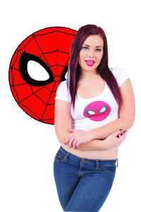 Small Mary Jane Watson Spidey logo Untitled-1 copy 2.    copy